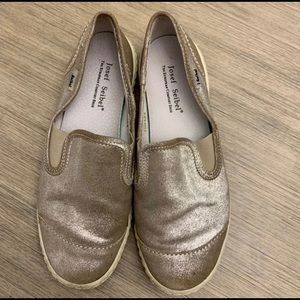 Josef Seibel Metallic Slip On Sneakers